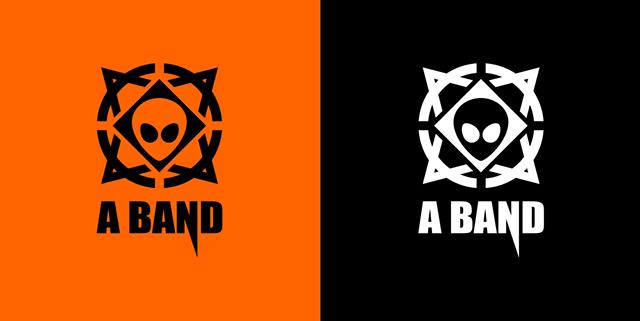 "马云""A BAND""乐队标志logo"