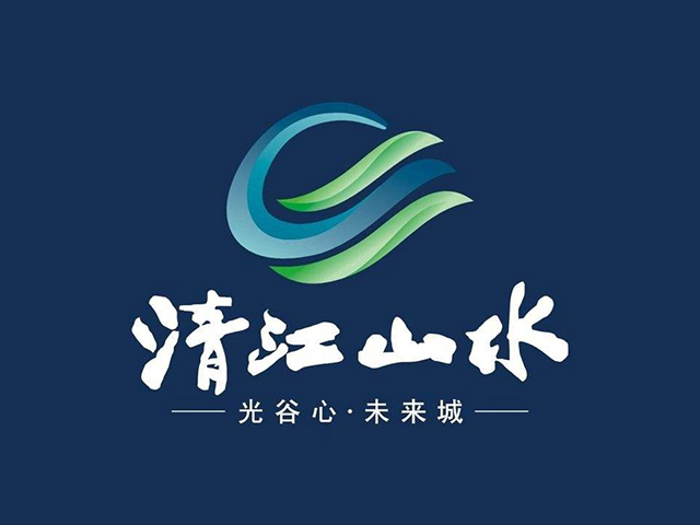清江山水楼盘标志logo