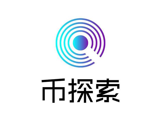 币探索区块链垂直领域服务平台标志logo
