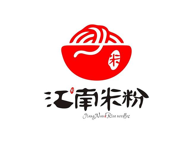江南米粉餐厅温州商标标志logo