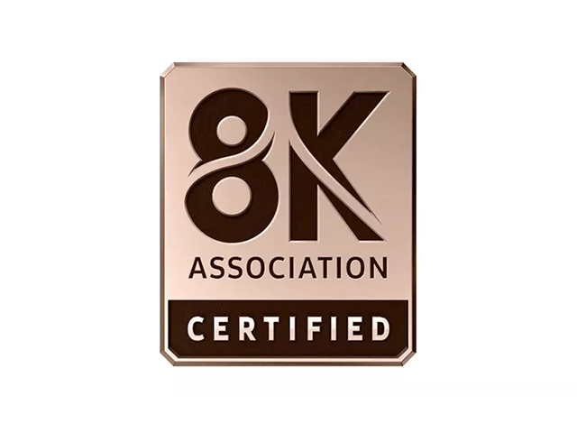 8K电视认证标识商标标志logo
