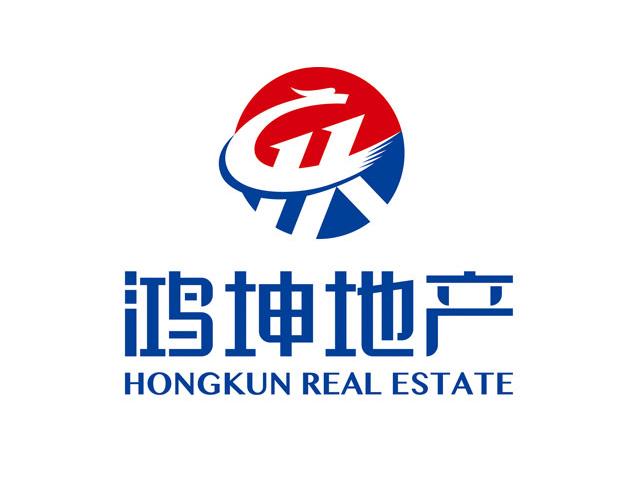 鸿坤地产温州商标标志logo