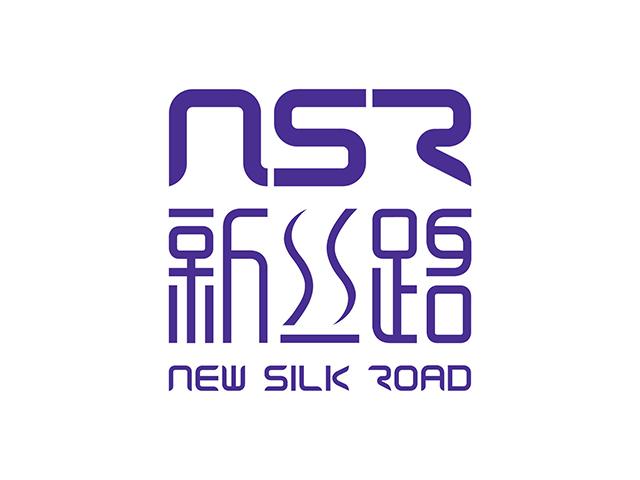 NSR新丝路模特温州商标标志logo