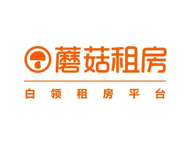 蘑菇租房平台温州商标标志logo
