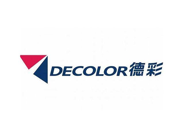 德彩decolor建材标志logo注册