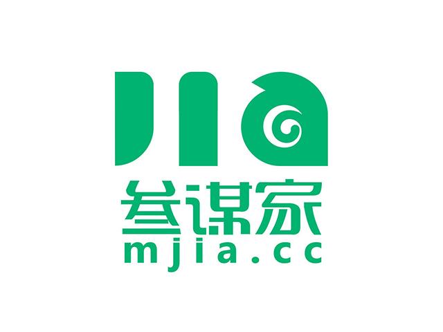 参谋家mjia装饰行业门户商标注册标志logo设计