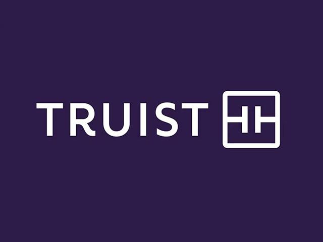美国银行TRUISTbank新商标注册标志logo设计