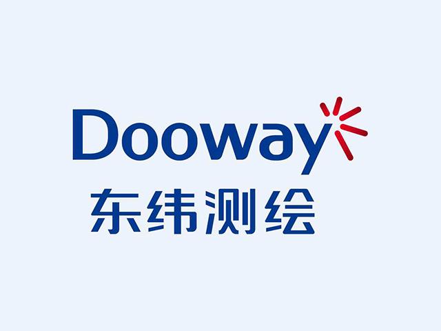 温州Dooway东纬测绘商标注册标志logo设计