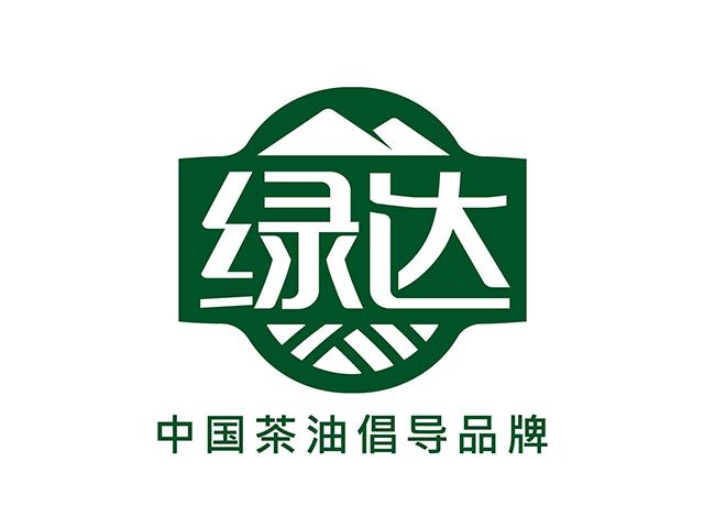 绿达茶油品牌商标注册标志logo设计