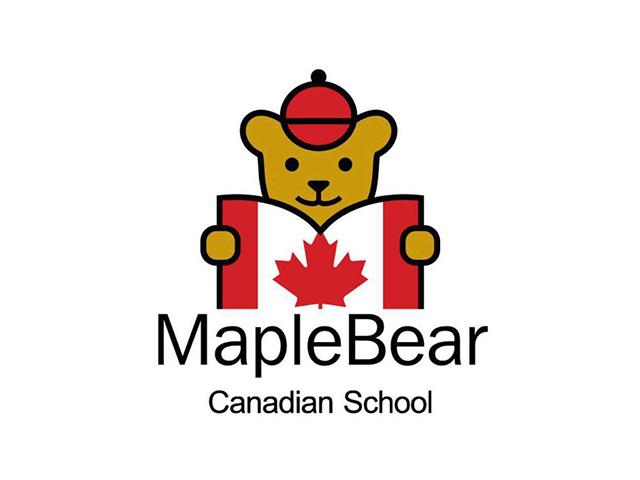 maplebear加拿大枫叶小熊学校校徽商标注册标志logo设计