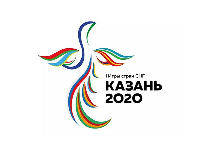 喀山首届独联体运动会会徽logo标志设计