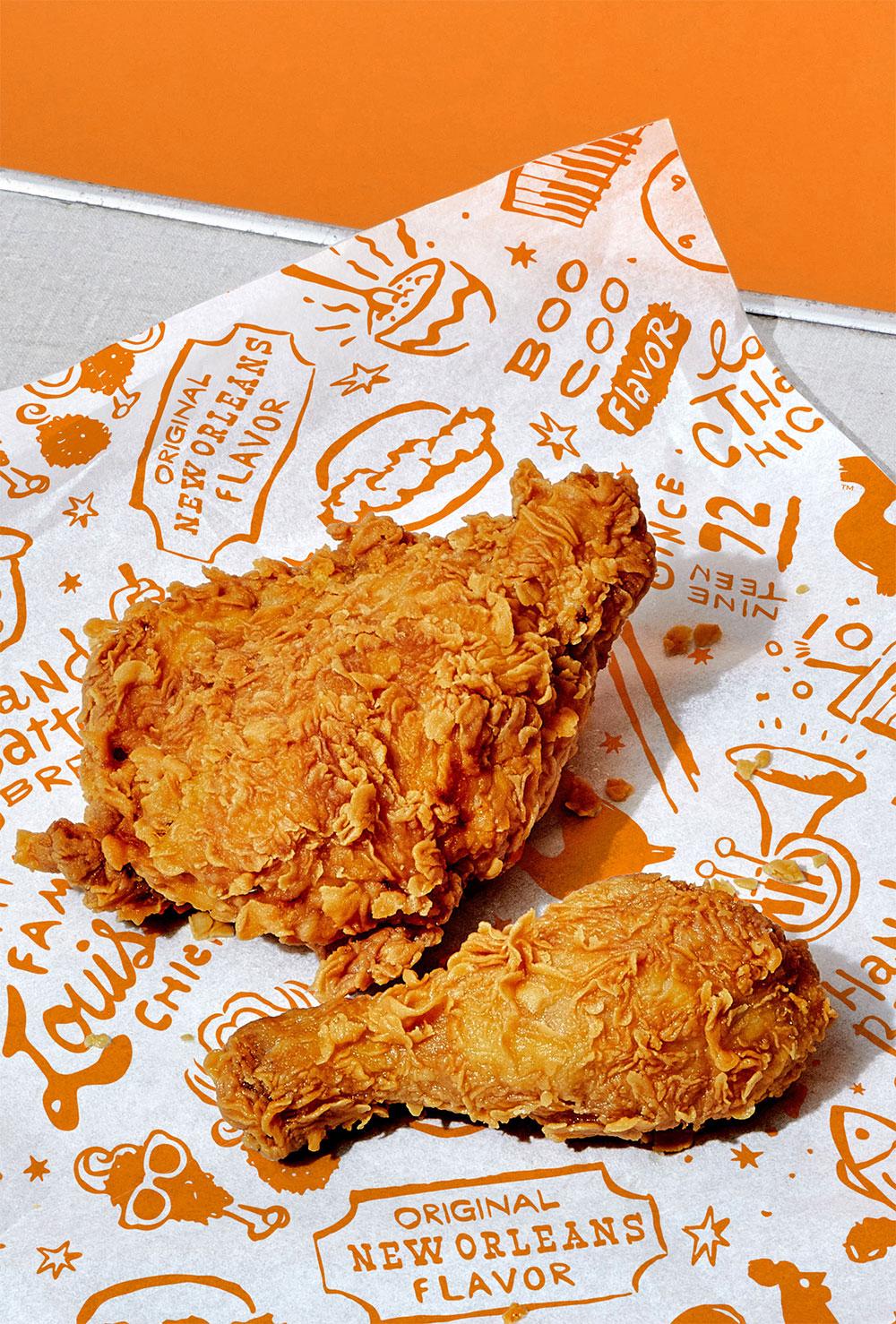 美国连锁快餐品牌大力水手炸鸡Popeyes新标志logo设计