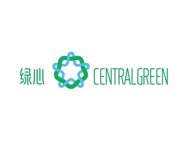 北京「城市绿心」品牌标识logo
