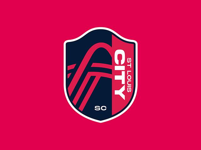 圣路易斯城足球俱乐部St.Louis City SC队徽标志logo