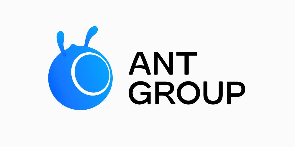 蚂蚁集团antgroup新标志logo