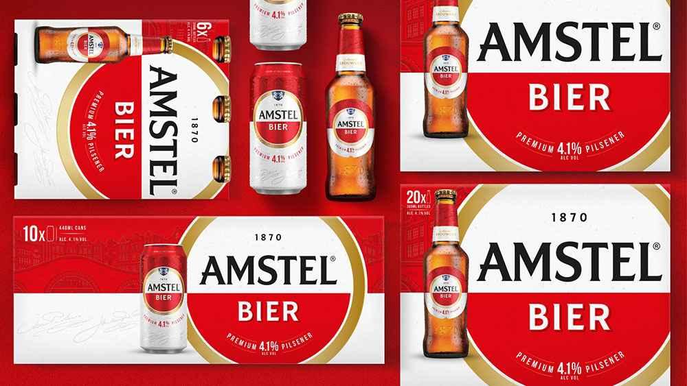 阿姆斯特尔(Amstel)啤酒新品牌标志logo